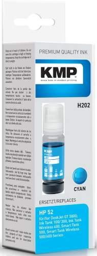 KMP H202 (HP GT52) Cyan