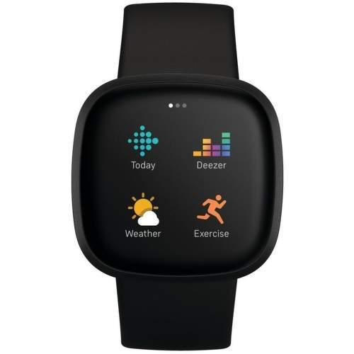 Fitbit Versa 3 smart hodinky čierna