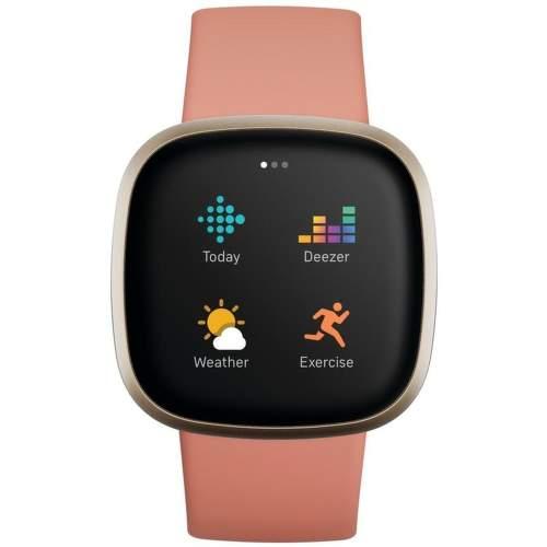 Fitbit Versa 3 smart hodinky ružová