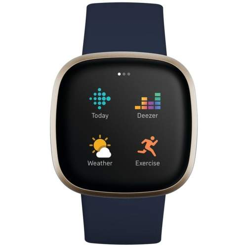 Fitbit Versa 3 smart hodinky modrá