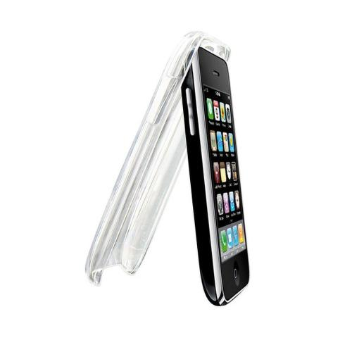 TNB Transparetný škrupinový obal na iPhone 3G + ochranná fólia