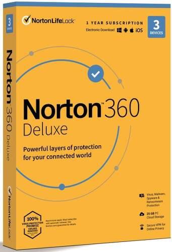 N360Norton 360 Deluxe (1 uživatel, 3 zařízení, 1 rok)v1_DLX_3D_12MO_2081219