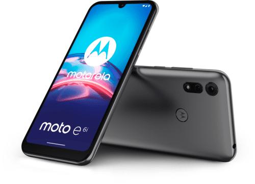 Motorola Moto E6i 32 GB sivý