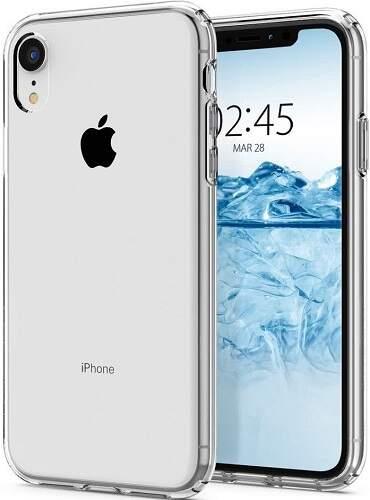 Spigen Liquid Crystal pouzdro pro Apple iPhone Xr transparentní