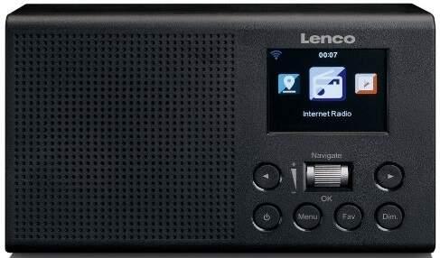 LENCO DIR-60 BLK