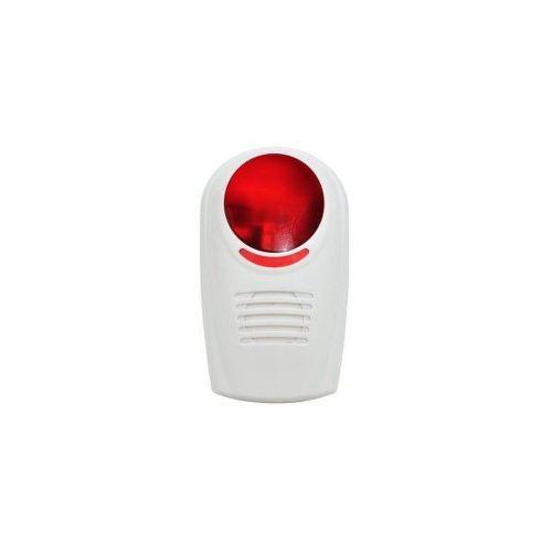 ECOPLANET Vonkajšia siréna Wifi, biela