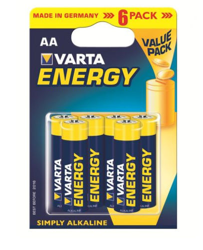 VARTA ENERGY AA, BLI 6
