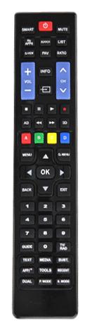INEOS Smart TV, Diaľkový ovládač