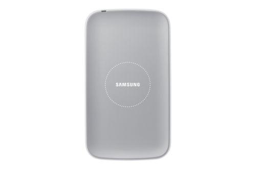 SAMSUNG sada pre bezdrôtové nabíjanie EP-WI950EW pre Galaxy S4 (i9505), biela