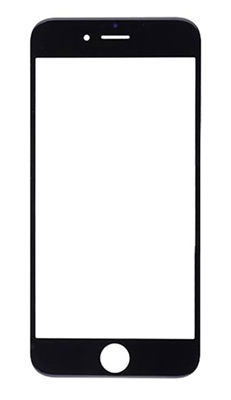PanzerGlass sklo pro iPhone 8/7/6 Plus, černé