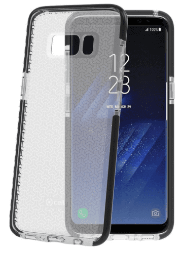 Celly Hexa pouzdro pro Galaxy S8, černé