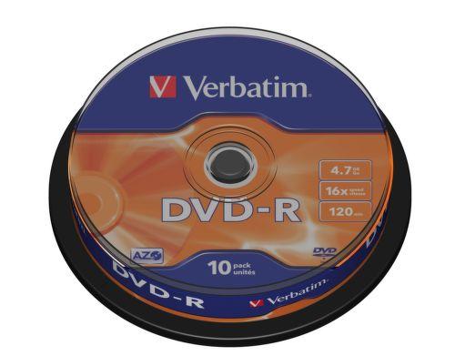 VERBATIM 10DVD-R 4,7GB 16x cake