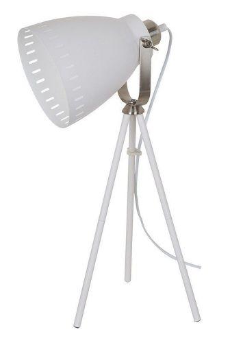 SOLIGHT Torino, Stolná lampa biela