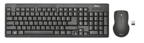 Trust Ziva  - CZ/SK klávesnice a myš
