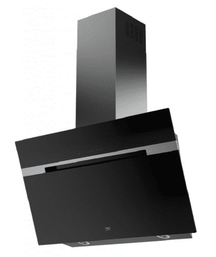 BEKO HCA92741B, černý nástěnný odsavač par