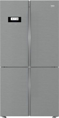 Beko GN1416233ZX, nerezová americká chladnička