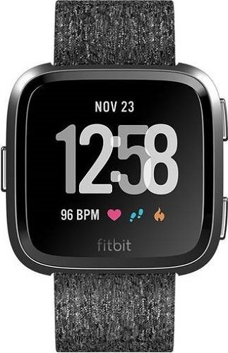 FITBIT Versa Charcoal W., Chytré hodinky