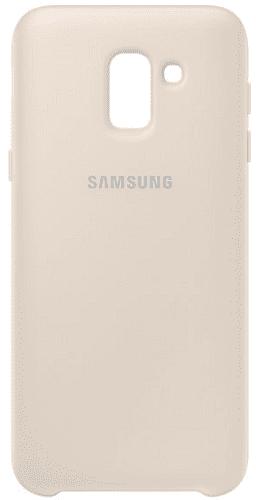 Samsung Dual Layer pouzdro pro Samsung Galaxy J6, zlatá