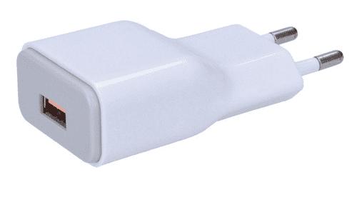 Solight DC51 bílý, USB nabíjecí QC 3.0 adaptér