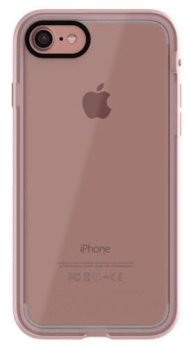 XQISIT Nuson Xcel pouzdro pro iPhone 8/7/6S/6, růžové