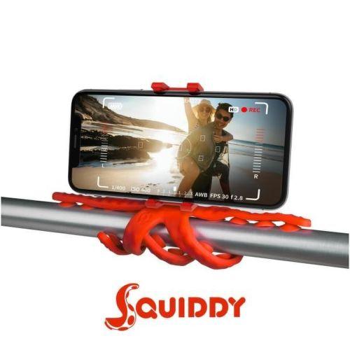 Celly Squiddy červený, flexibilní držák