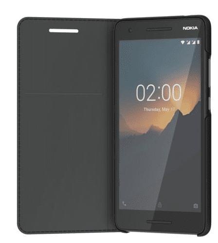 Nokia Slim Entertainment Flip pouzdro CP-220 pro Nokia 2.1, černá