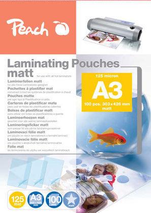 Peach S-PP525-15 A3 100 ks laminovací fólie