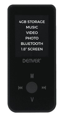 DENVER MPG-4084BT BLK2