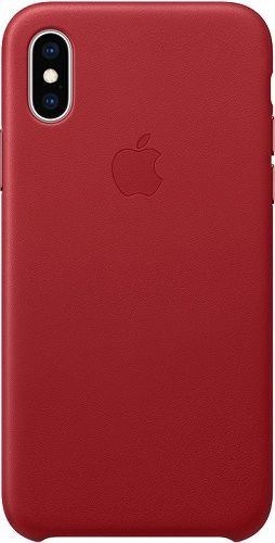 Apple kožené pouzdro pro Apple iPhone XS, (PRODUCT) RED