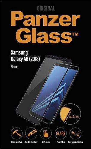 Panzerglass sklo pro Samsung Galaxy A6 2018, černá