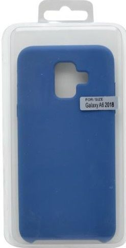 Mobilnet silikonové pouzdro pro Samsung Galaxy A6, modré