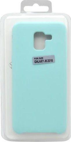 Mobilnet silikonové pouzdro pro Samsung Galaxy J6 2018, mentolové