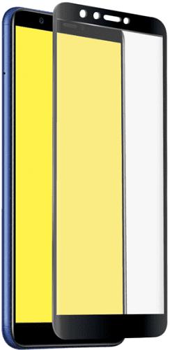 SBS Full Cover tvrzené sklo pro Huawei Y6 2018, černá