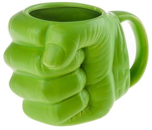 Marvel Hulk Shaped Mug zelený