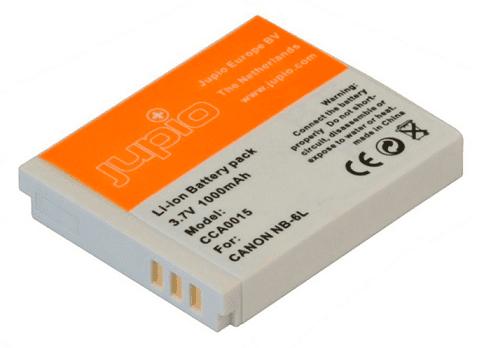 Jupio NB-6L, Náhradní baterie