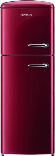 Gorenje RF60309OR-L, bordová kombinovaná chladnička