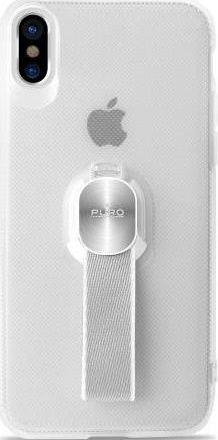 Puro Magnet Strap ochranné pouzdro pro Apple iPhone X, transparentní