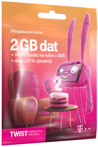 T-MOBILE Twist s Námi 2GB, SIM karta