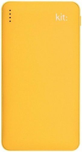 Kit Fresh powerbanka Qualcomm 12 000 mAh, žlutá