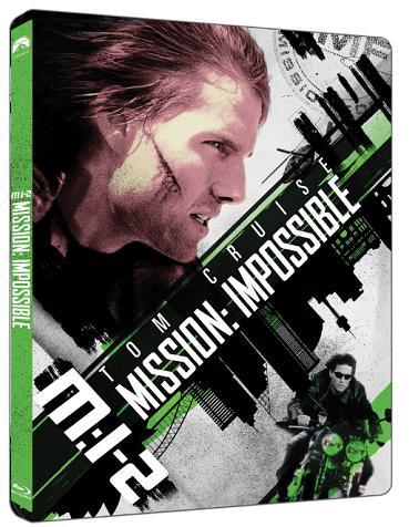 Mission: Impossible 2 (Steelbook) - Blu-ray + 4K UHD film