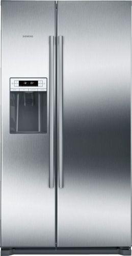 Siemens KA90DVI30 - nerezová americká chladnička
