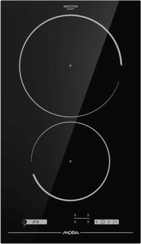 MORA VDIT 331 FF, černá domino indukční varná deska