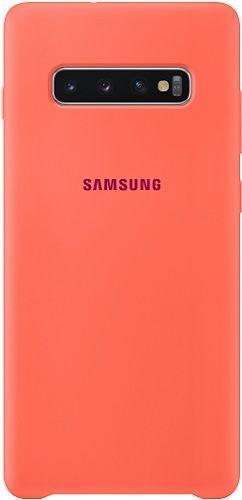 Samsung silikonové pouzdro pro Samsung Galaxy S10, růžová