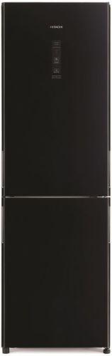 Hitachi R-BG410PRU6X-GBK, černá kombinovana chladnička