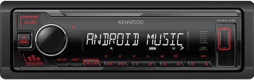 KENWOOD KMM-105RY RED