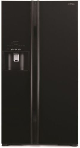 HITACHI R-S700GPRU2-GBK, černá americká chladnička