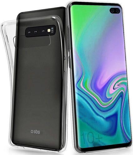 SBS Skinny silikonové pouzdro Samsung Galaxy S10+, transparentní