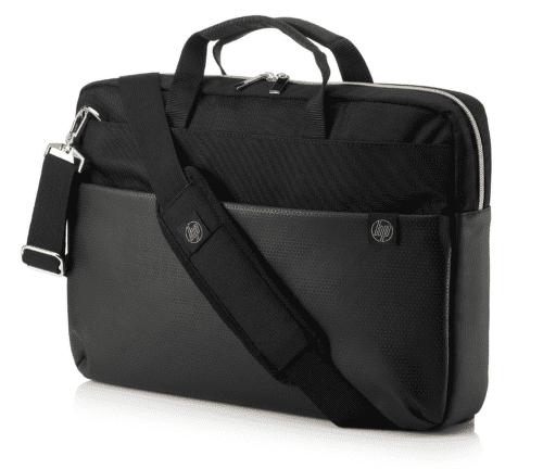 HP Pavilion Accent Briefcase 15 taška na notebook, černo stříbrná