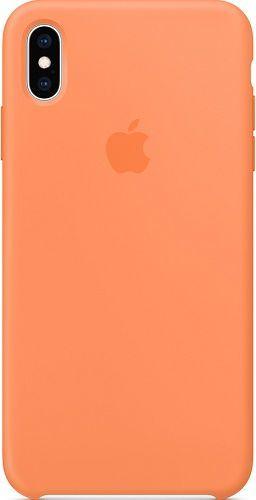 Apple silikonové pouzdro pro Apple iPhone Xs Max, oranžová