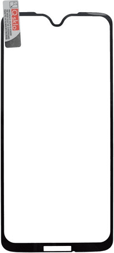 Q sklo 2,5D tvrzené sklo pro Motorola Moto G7 Plus, černá